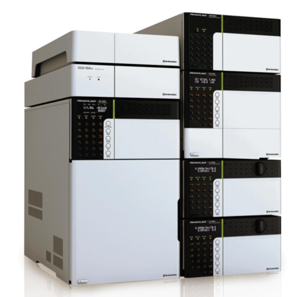 Image: The Nexera X2 Ultra High Performance Liquid Chromatography (UHPLC) system (Photo courtesy of Shimadzu).