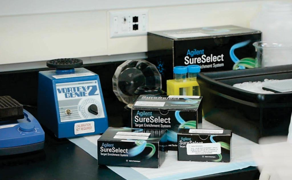 Image: SureSelect Target Enrichment Systems (Photo courtesy of Agilent Technologies).