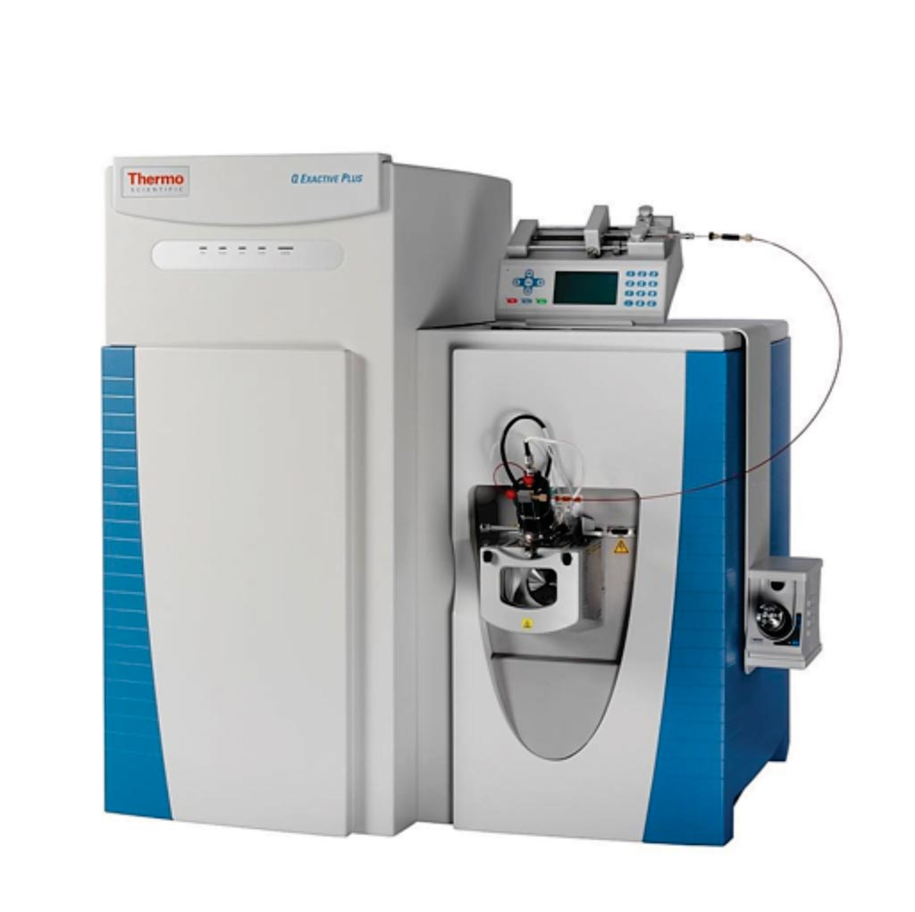 Image: The Q Exactive Hybrid Quadrupole-Orbitrap Mass Spectrometer (Photo courtesy of Thermo Fisher Scientific).