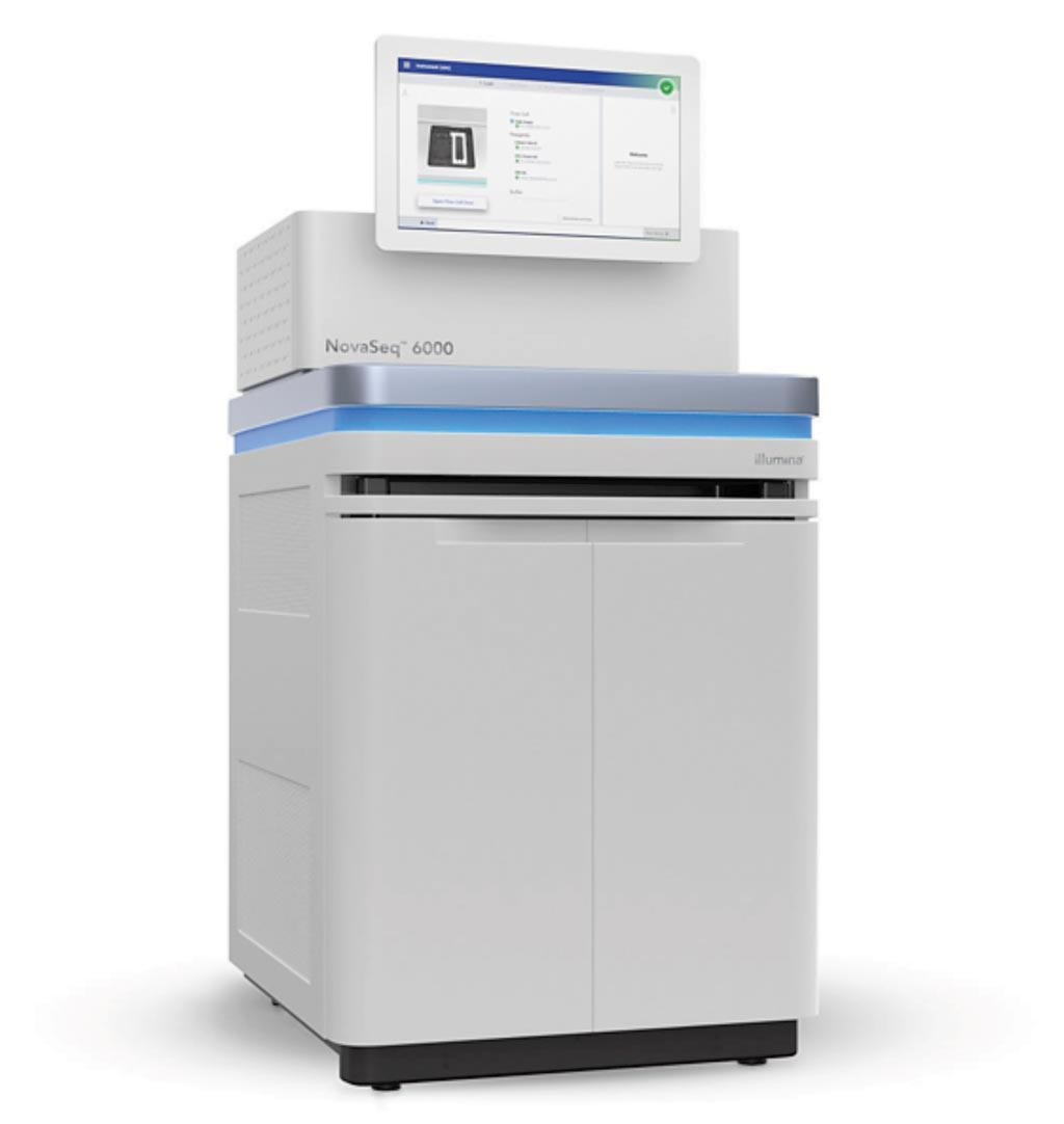 Image: The NovaSeq 6000 sequencing system platform (Photo courtesy of Illumina).