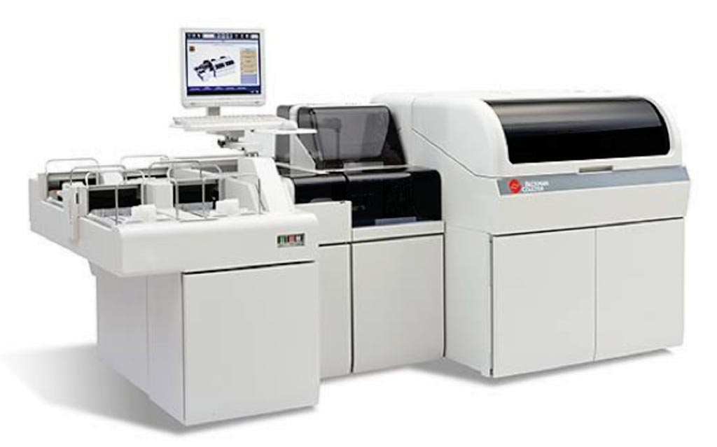 Image: The AU 5800 automatic analyzer (Photo courtesy of Beckman Coulter).