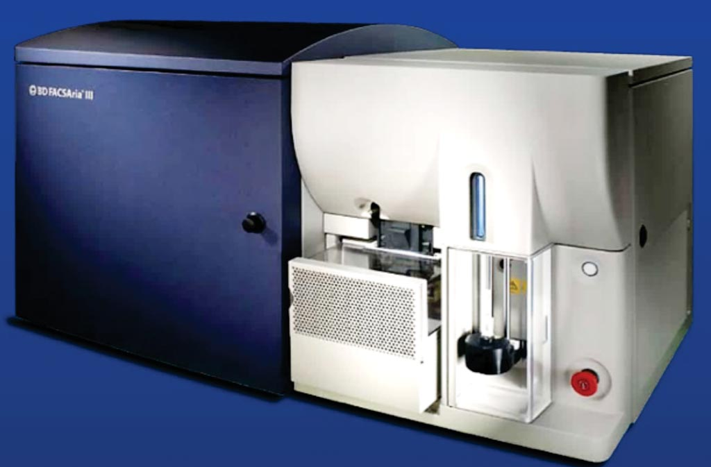 Image: The FACSAria III cell sorter (Photo courtesy of BD Biosciences).