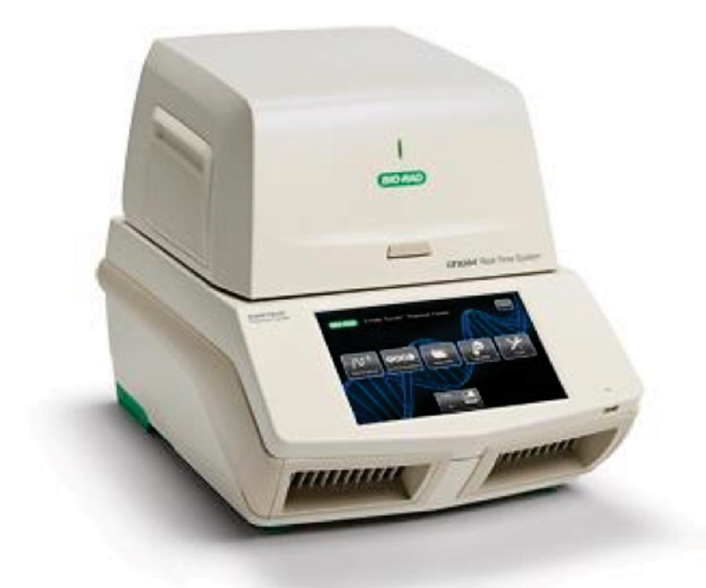 Image: The CFX384 real-time PCR detection system (Photo courtesy of Bio-Rad Laboratories).
