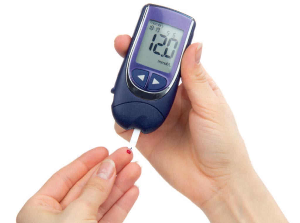 Image: Testing blood glucose regularly allows for glycemic control strategy (Photo courtesy of the American Academy of Family Physicians).