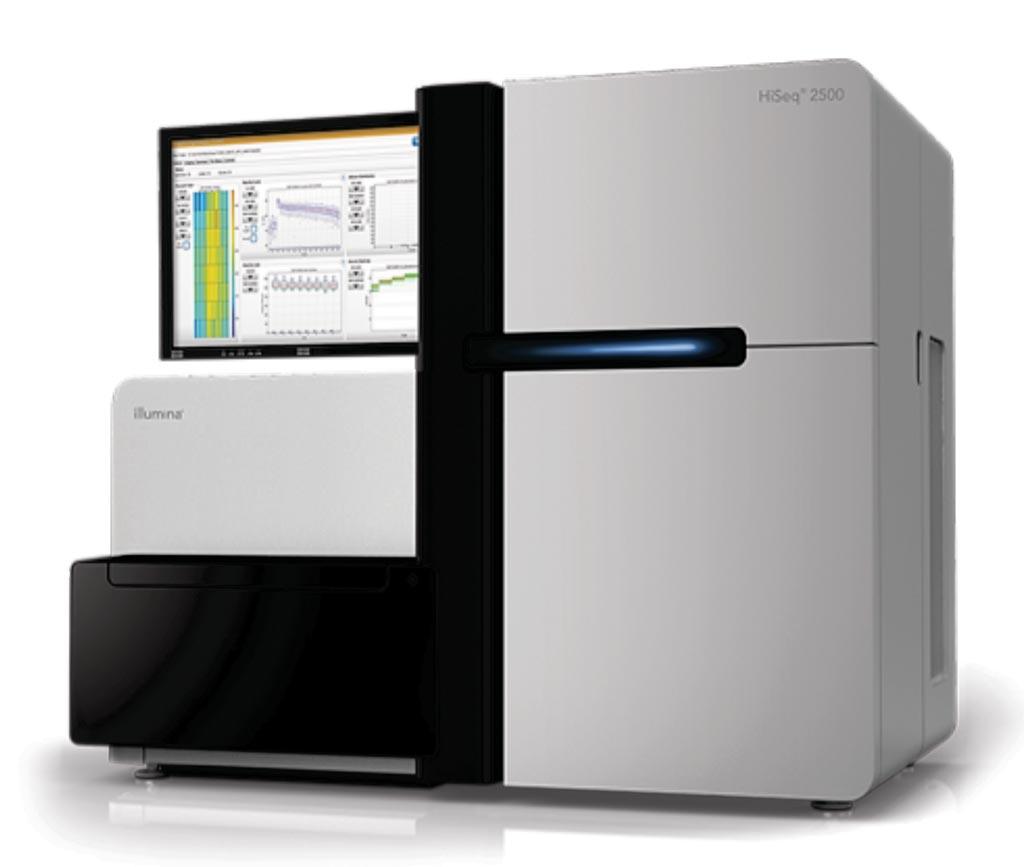 Система HiSeq 2500 представляет собой мощную высокопроизводительную систему секвенирования (фото любезно предоставлено Illumina).