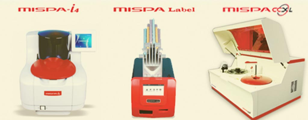 Image: The MISPA range of analyzers (Photo courtesy of Agappe Diagnostics).
