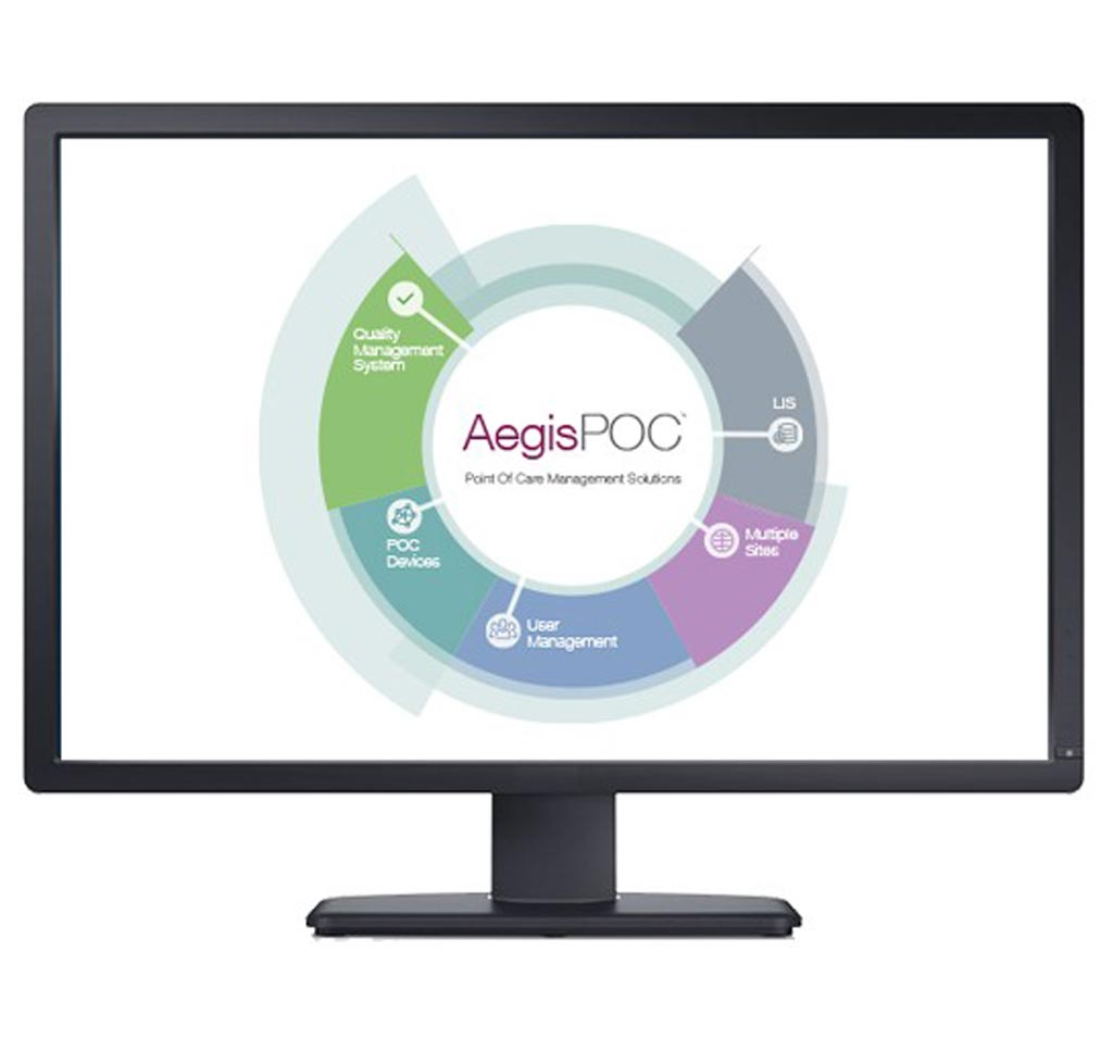 Image: The AegisPOC Point of Care Management Solutions have been developed to seamlessly connect point-of-care devices in the hospital or community with the lab (Photo courtesy of Abbott).