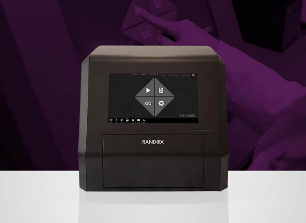 Image: The Evidence MultiSTAT analyzer (Photo courtesy of Randox Laboratories).