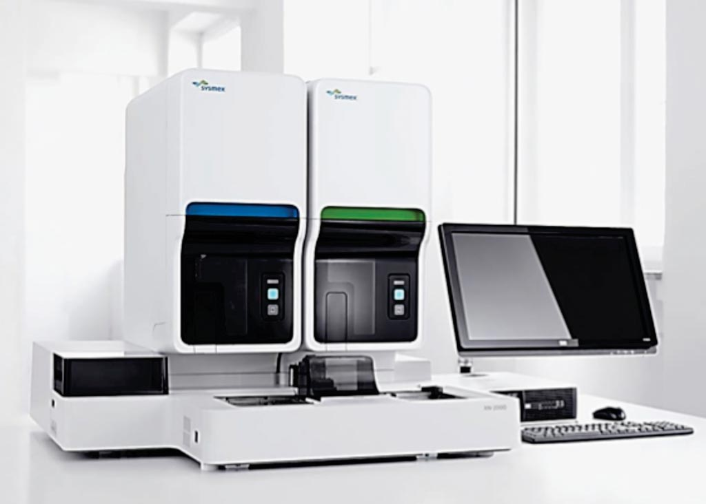 Image: An XN automated hematology analyzer that can also be used for malaria diagnosis (Photo courtesy of Sysmex).