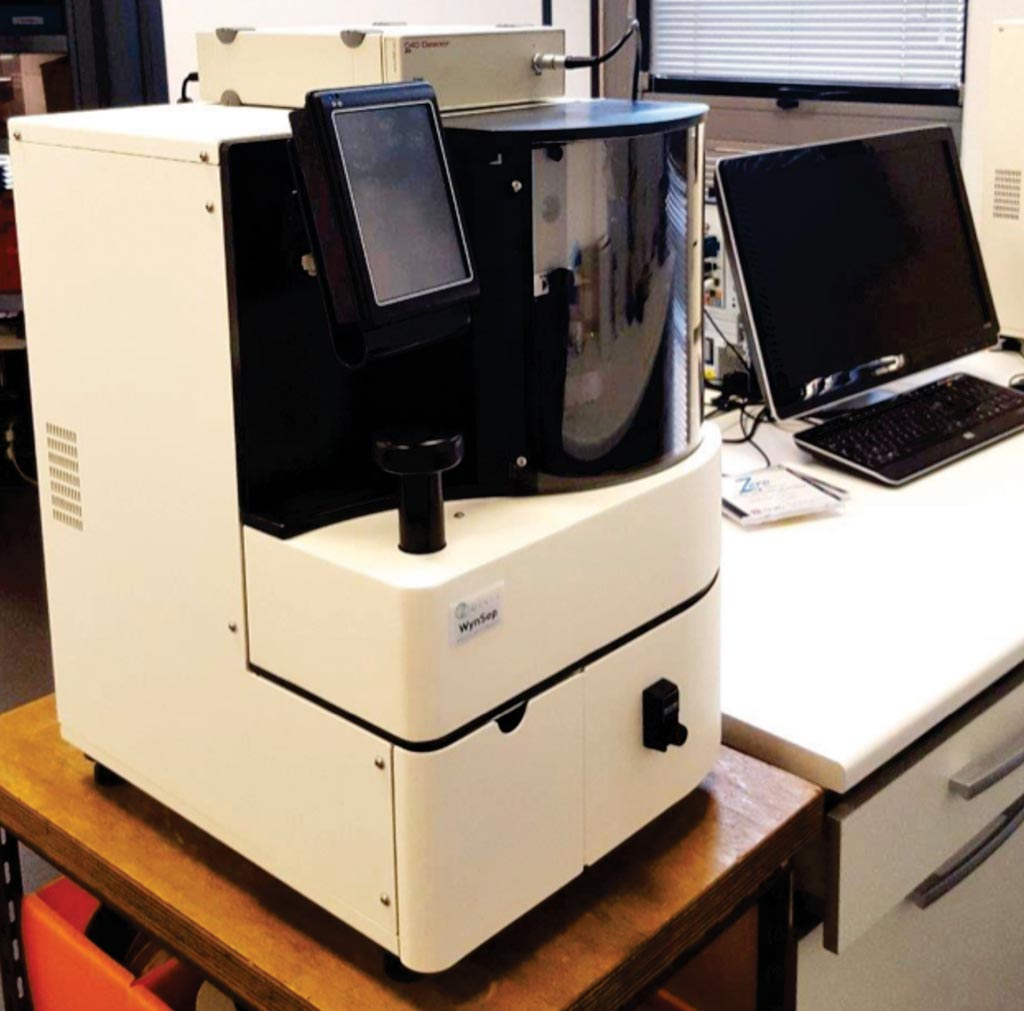 Image: The Wyn-CE Adaptive Capillary Electrophoresis system and ER815 C4D Detector (Photo courtesy of WynSep).