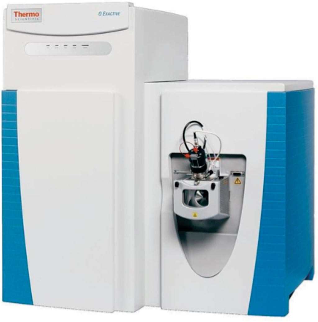 Image: The Q Exactive hybrid mass spectrometer (Photo courtesy of Thermo Fisher Scientific).