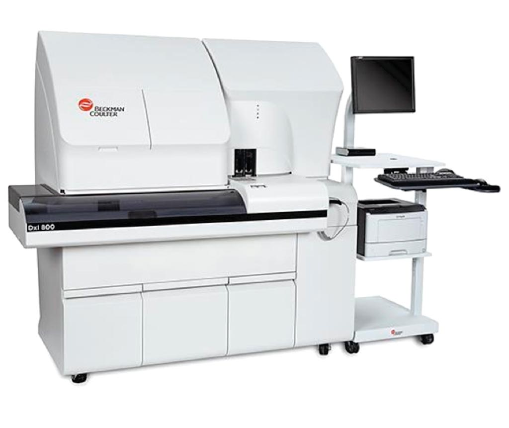 Image: The UniCel DxI 800 access immunoassay platform (Photo courtesy of Beckman Coulter).