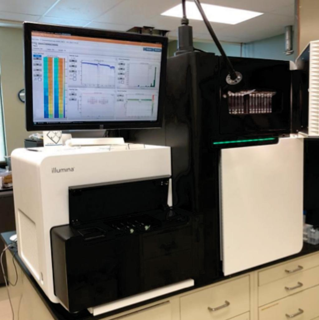 Image: The HiSeq 2500 sequencing system offers unprecedented output (Photo courtesy of the University of Delaware).