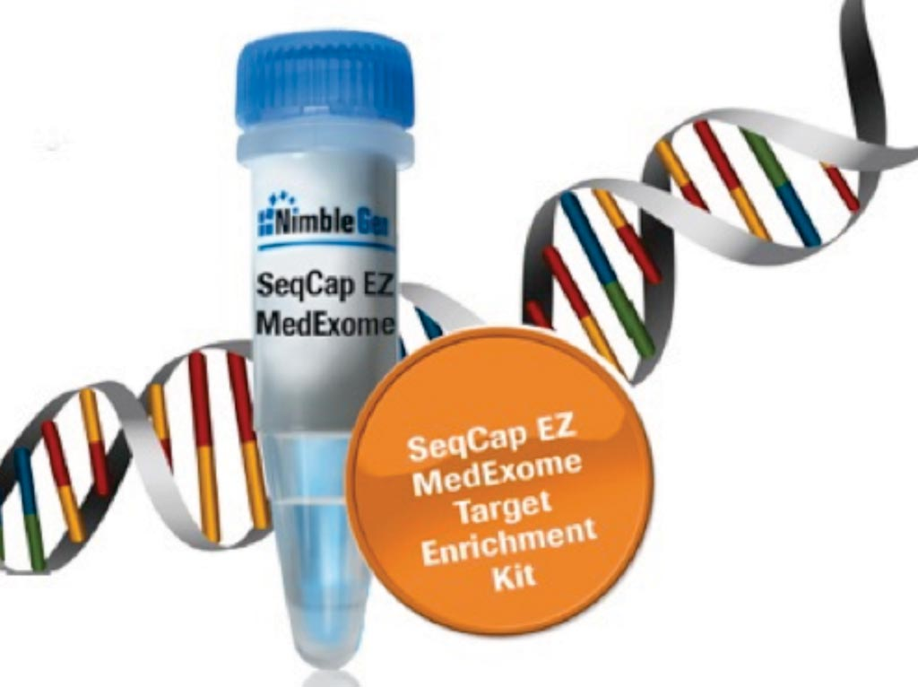 Image: A Target Enrichment Kit (Photo courtesy of Roche Life Sciences).