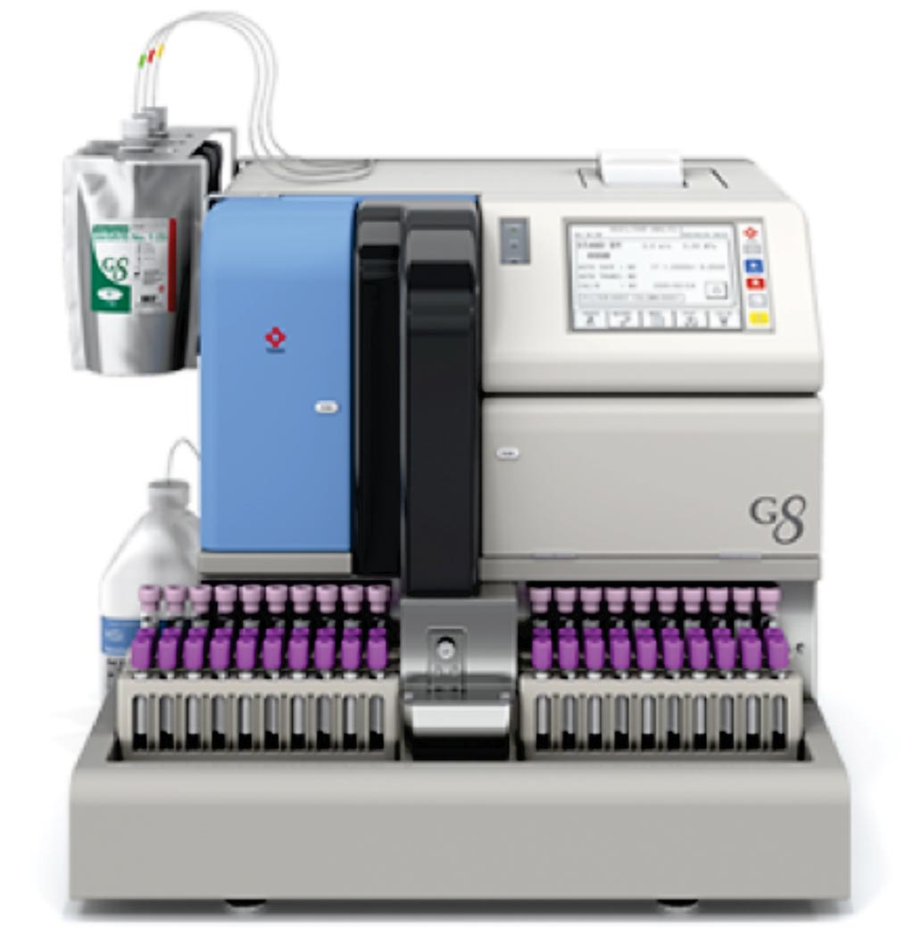Image: The TOSOH G8 ion exchange high performance liquid chromatography analyzer (Photo courtesy of Tosoh Bioscience).