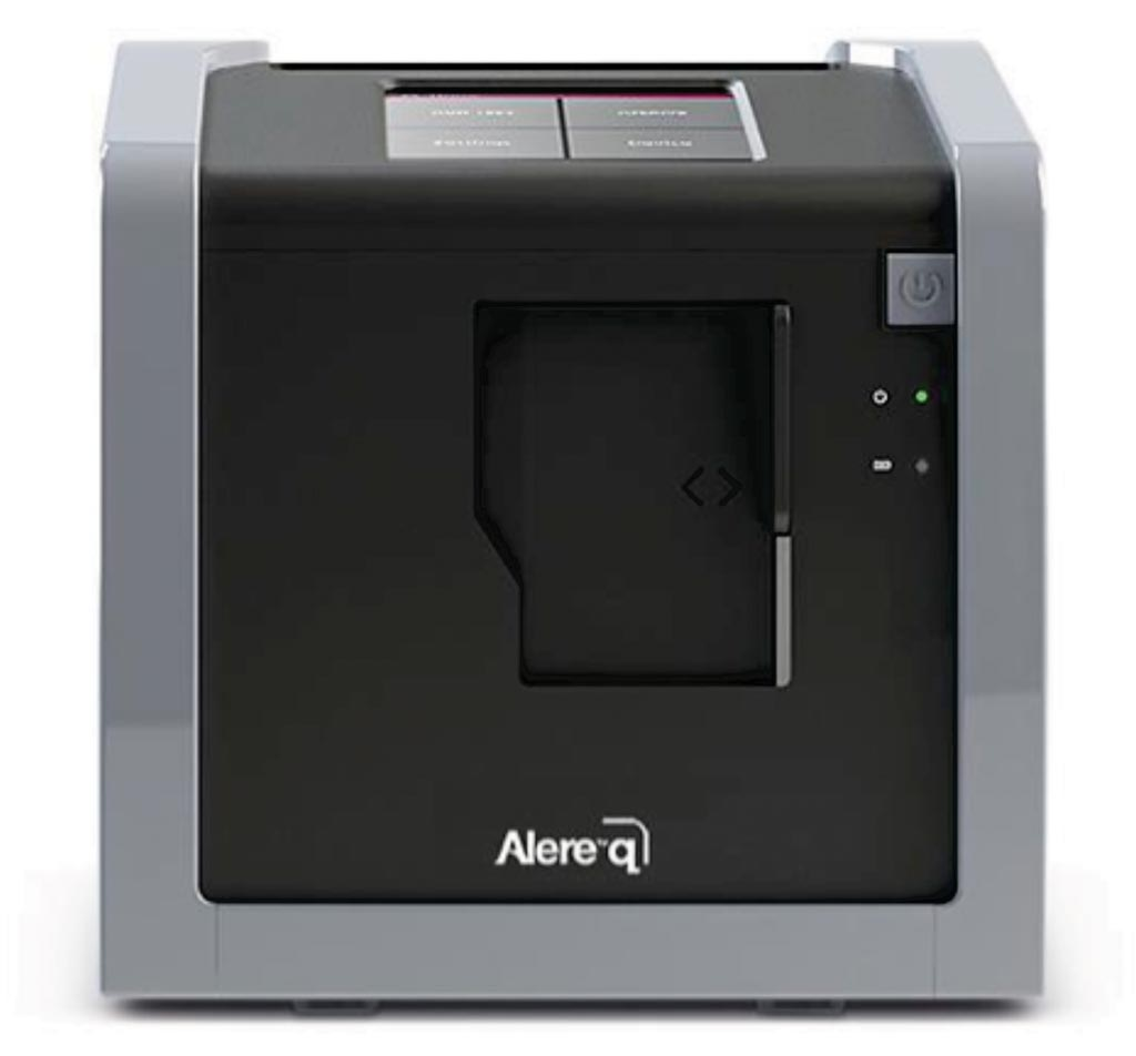 Image: The Alere q is a fully automated nucleic acid testing platform that brings the power of molecular testing to bench tops in any healthcare setting (Photo courtesy of Alere Technologies).