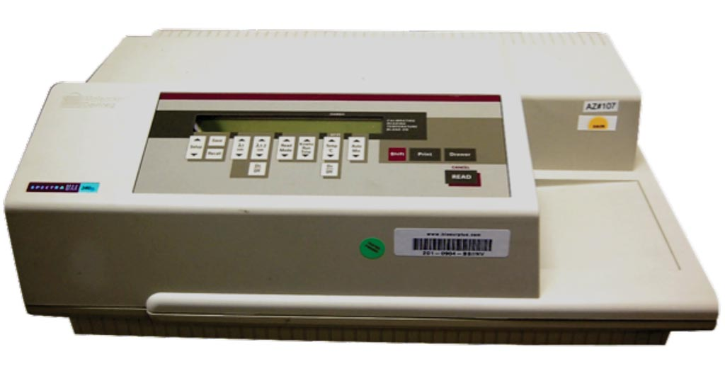 Image: The SpectraMax 340 PC 384 Microplate Reader (Photo courtesy of Molecular Devices).
