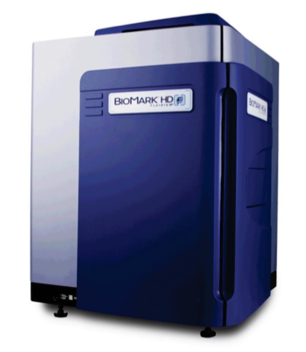 Image: The BioMark HD real-time polymerase chain reaction (PCR) platform (Photo courtesy of Fluidigm).