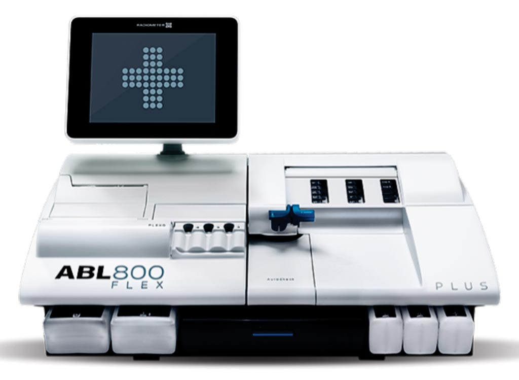 Image: The ABL800 FLEX blood gas analyzer (Photo courtesy of Radiometer Medical).