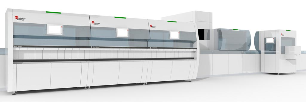 Image: The DxA 5000 total laboratory automation solution (Photo courtesy of Beckman Coulter).
