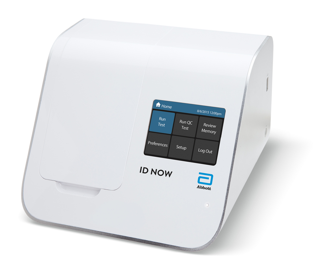Image: The ID NOW isothermal system for the qualitative detection of infectious diseases (Photo courtesy of Abbott Diagnostics).