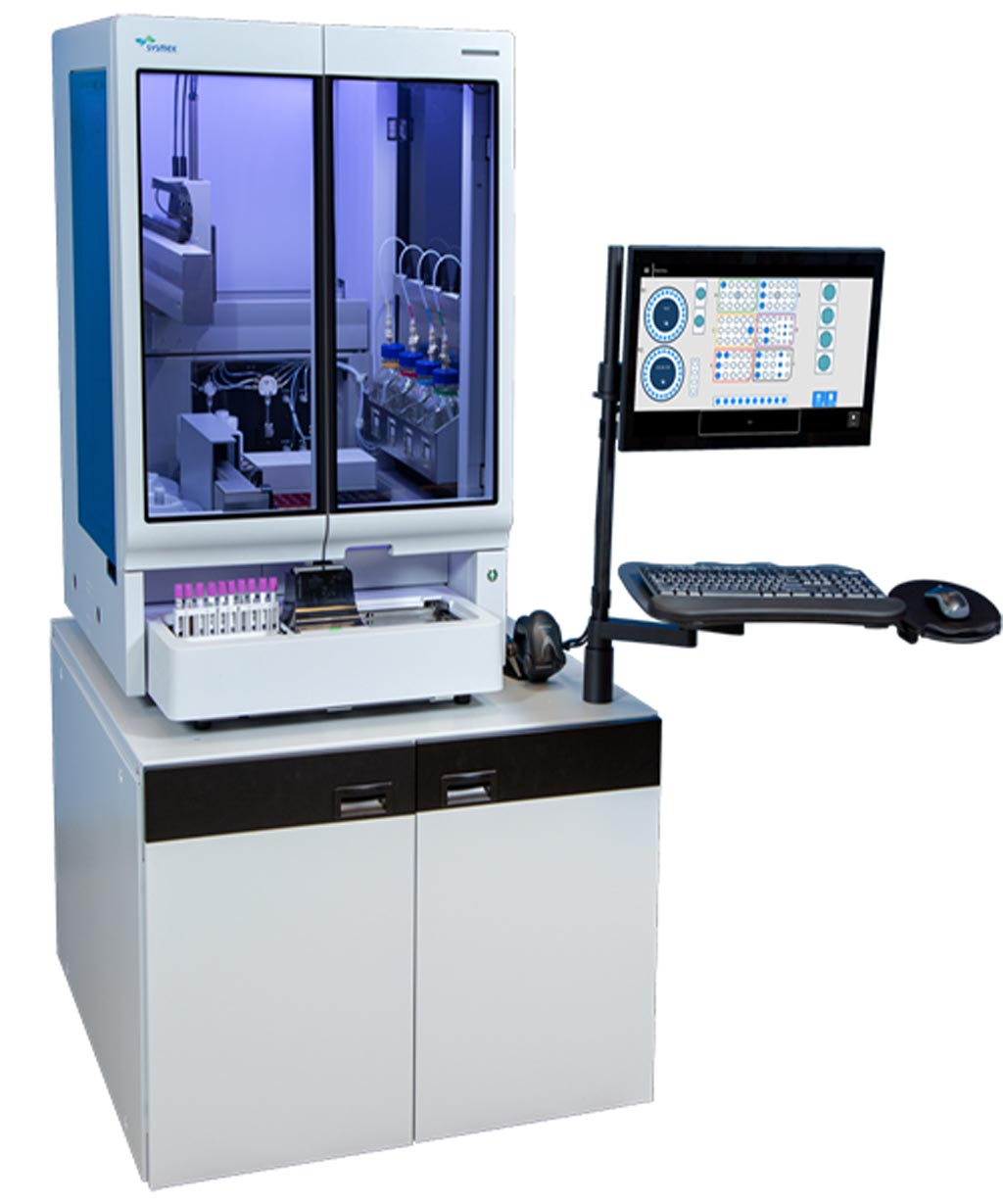 Image: The PS-10, designed for complex laboratory-developed tests and routine flow cytometry applications (Photo courtesy of Sysmex America).