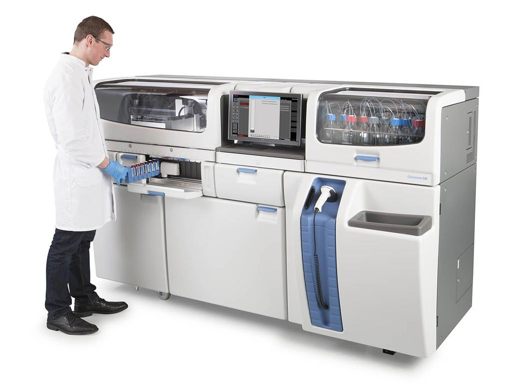 Image: The Cascadion SM clinical lab analyzer (Photo courtesy of Thermo Fisher Scientific).