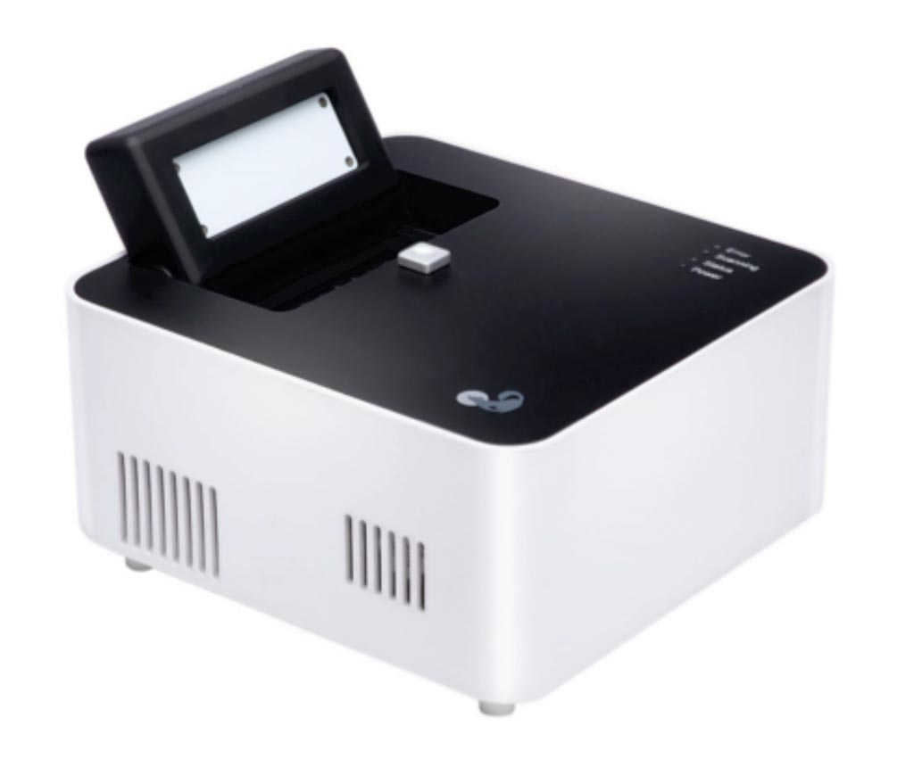 Image: The Mini8 Plus real time polymerase chain reaction (RT-PCR) thermocycler (Photo courtesy of Coyote Bioscience).