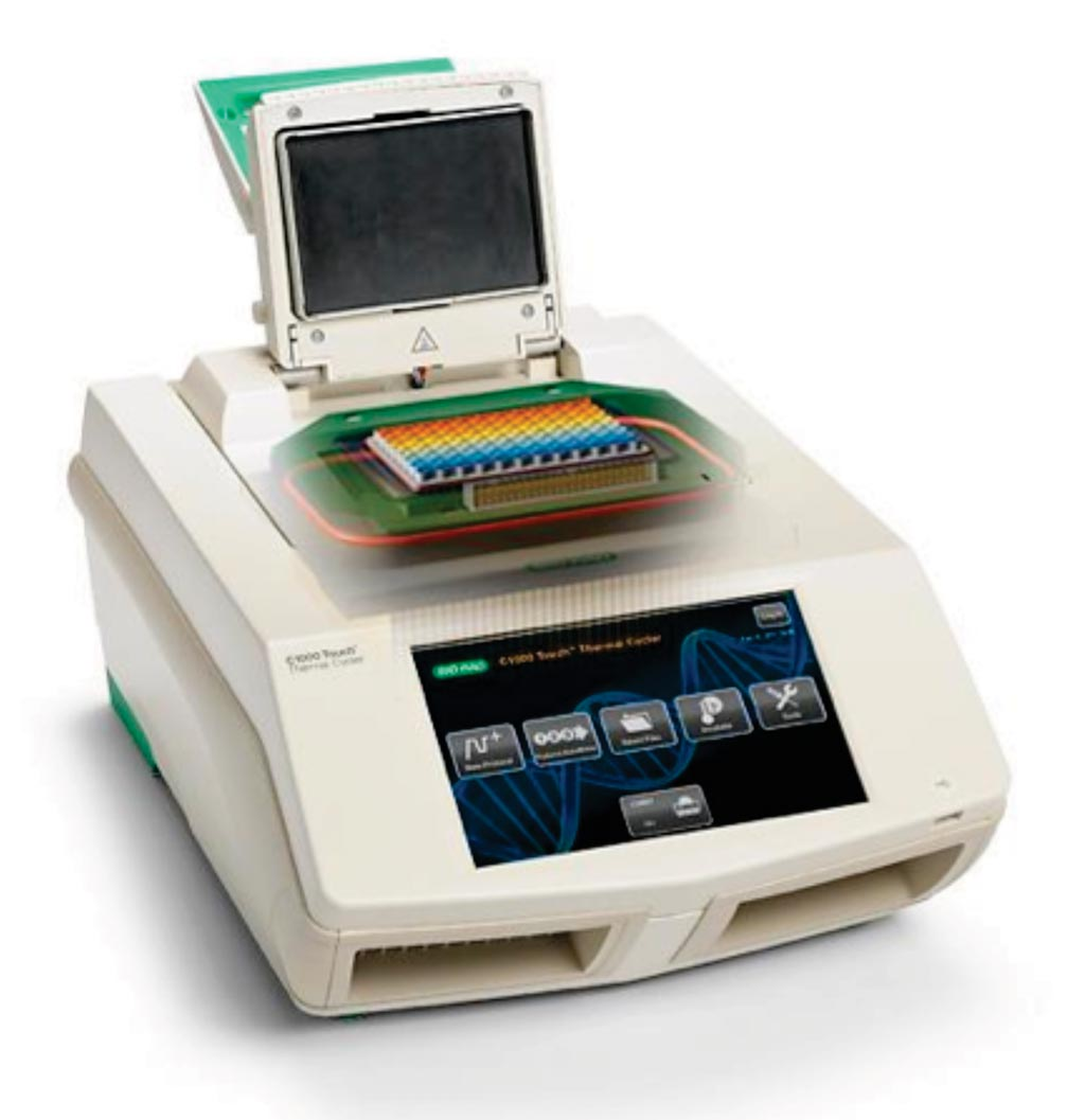 Image: The CFX96 Touch RT-PCR detection system (Photo courtesy of Bio-Rad Laboratories).