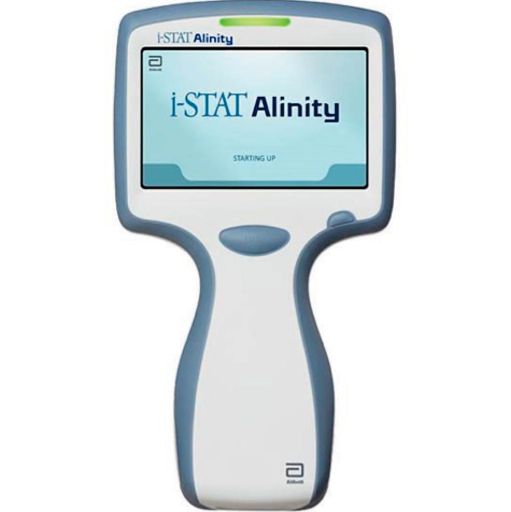 Image: The i-STAT Alinity system integrates with-patient testing directly into the patient-care pathway, accelerating time to treatment, improving quality and increasing access to care (Photo courtesy of Abbott).