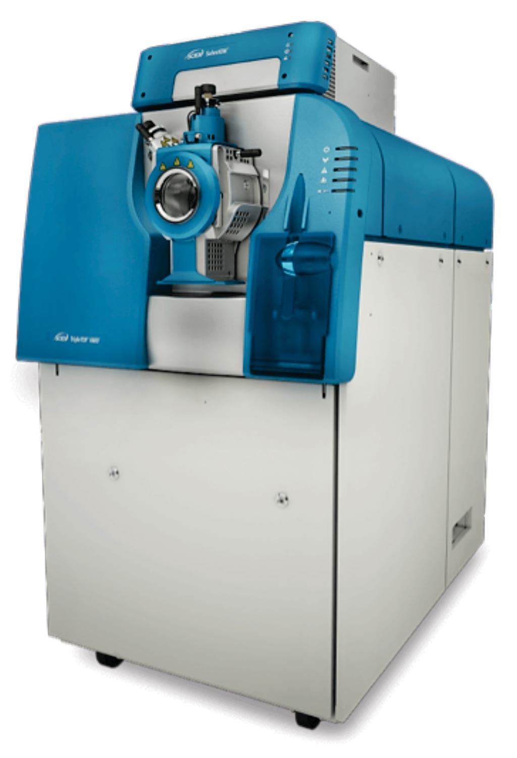 Image: The TripleTOF 6600 Quadrupole Time-Of-Flight (QTOF) mass analyzer (Photo courtesy of Sciex).