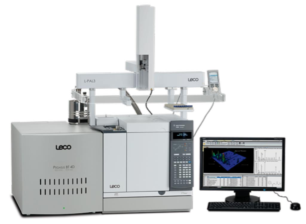 Image: The Pegasus BT-4D time of flight mass spectrometry (TOF-MS) system (Photo courtesy of LECO).