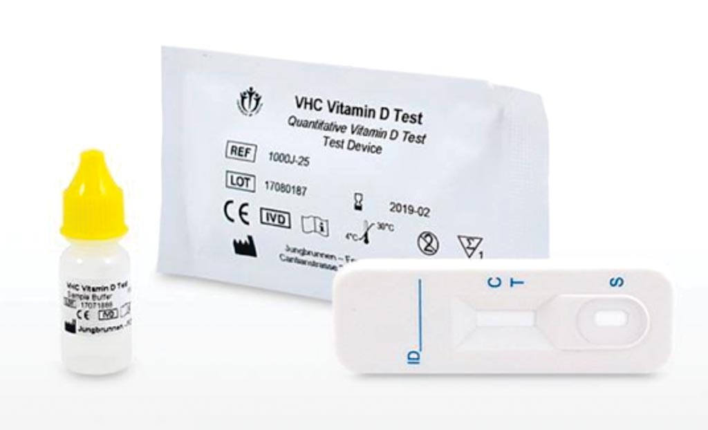 Image: The VHC Quantitative Vitamin-D Test is an immunochromatography-based one step in vitro point of care test (Photo courtesy of Nouveau Health).