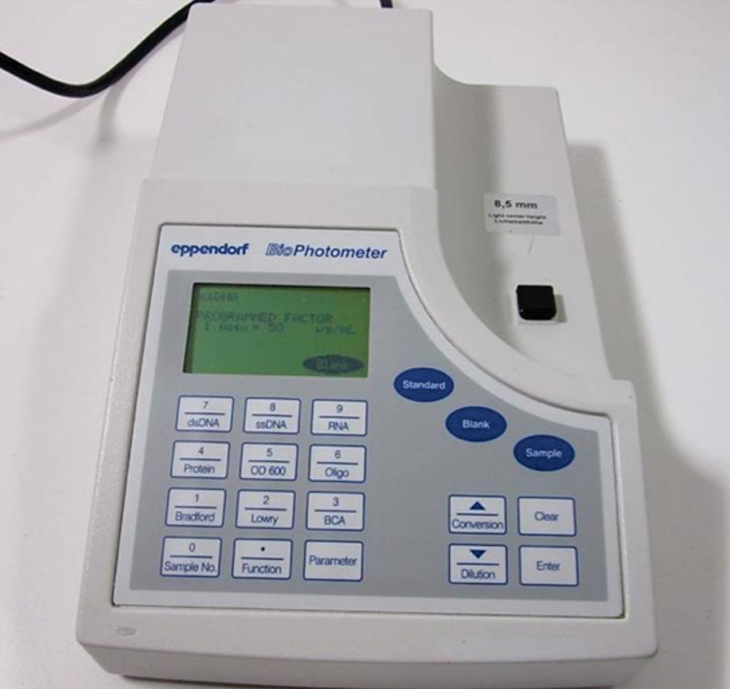 Image: The BioPhotometer 6131 spectrophotometer/fluorometer (Photo courtesy of Eppendorf).