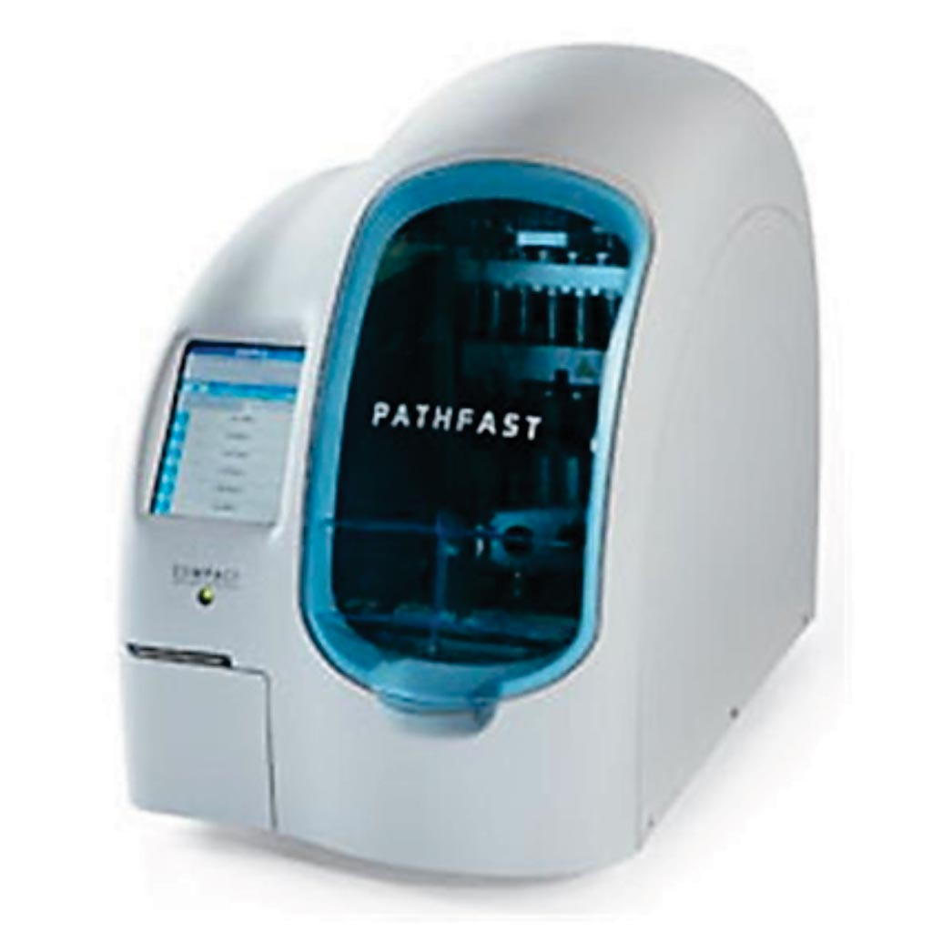 Image: The PATHFAST compact benchtop automatic immunoassay analyzer (Photo courtesy of LSI Medience).