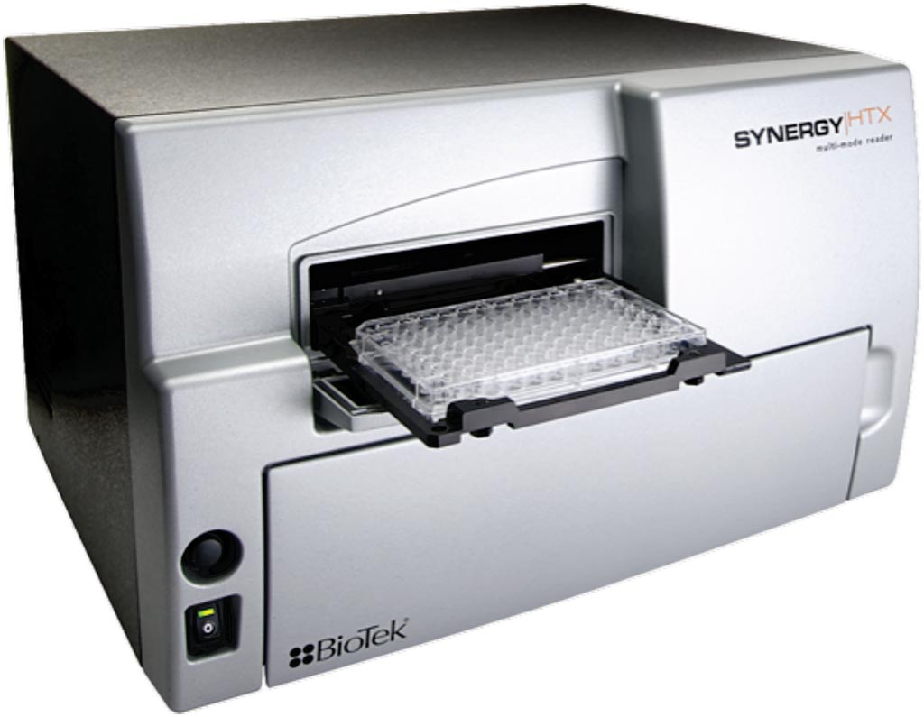 Image: The Synergy HTX multi-mode microplate reader is a compact, affordable system for 6- to 384-well microplates and Take3 Micro-Volume Plates (Photo courtesy of BioTek).