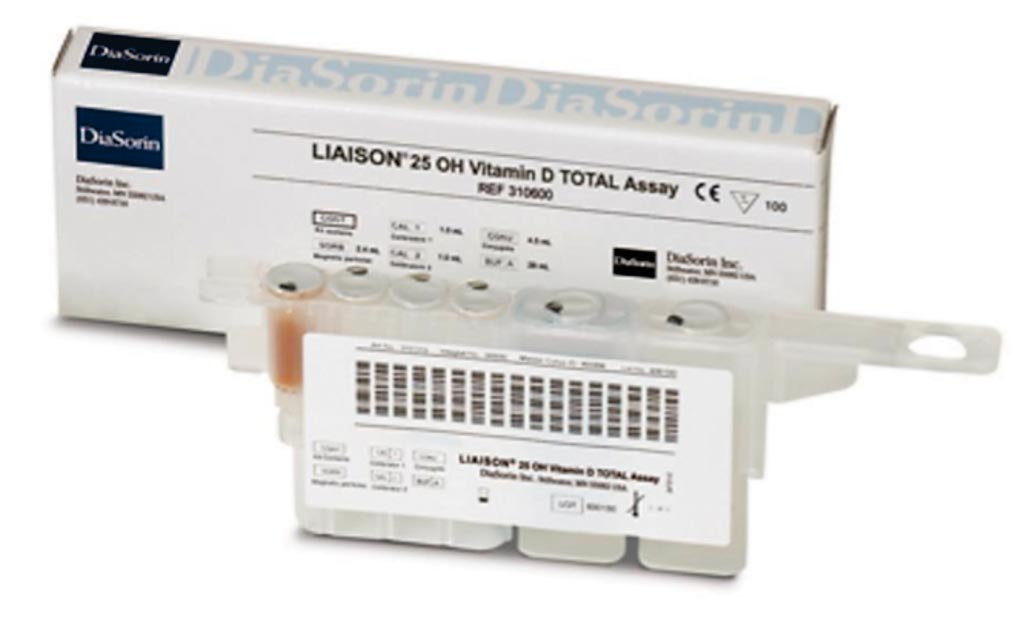 Image: The LIAISON 25 OH Vitamin D TOTAL Assay is a fully automated assay measuring both D2 and D3 for a total result (Photo courtesy of Diasorin).