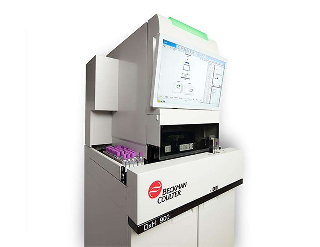 Image: The DxH 900 hematology analyzer (Photo courtesy of Beckman Coulter)