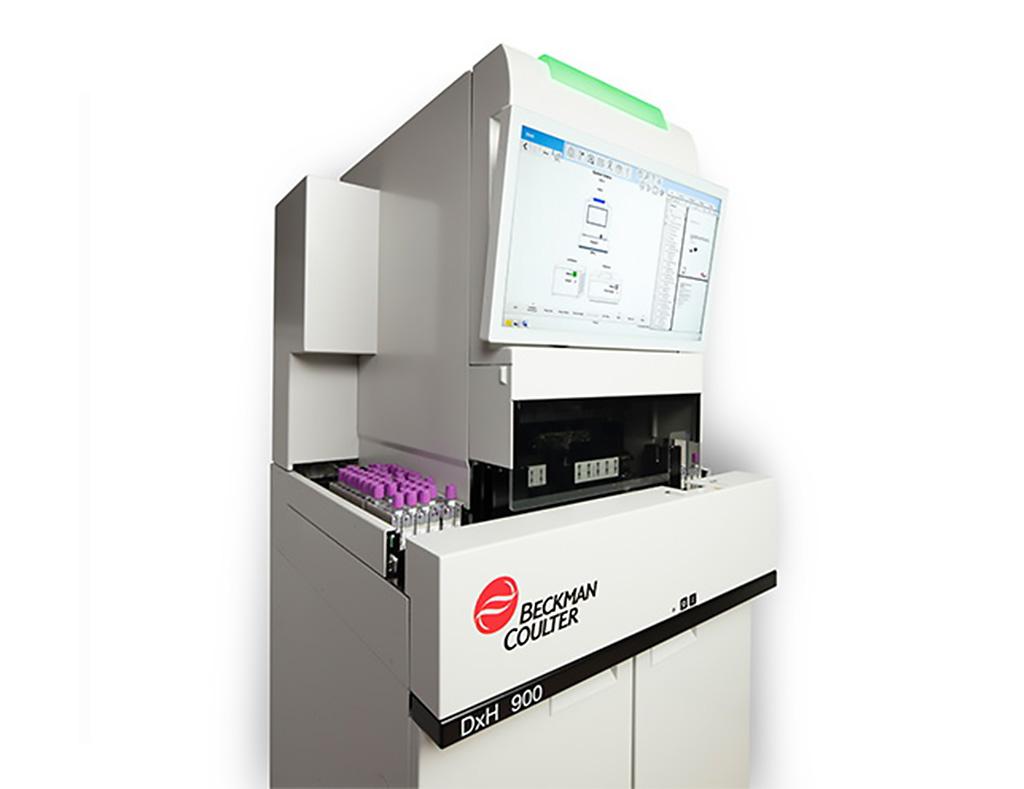 Image: The DxH 900 hematology analyzer (Photo courtesy of Beckman Coulter)