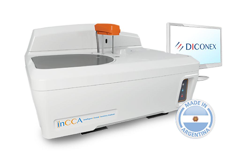 Image: InCCA Intelligent Clinical Chemistry Analyzer (Photo courtesy of Diconex S.A.)