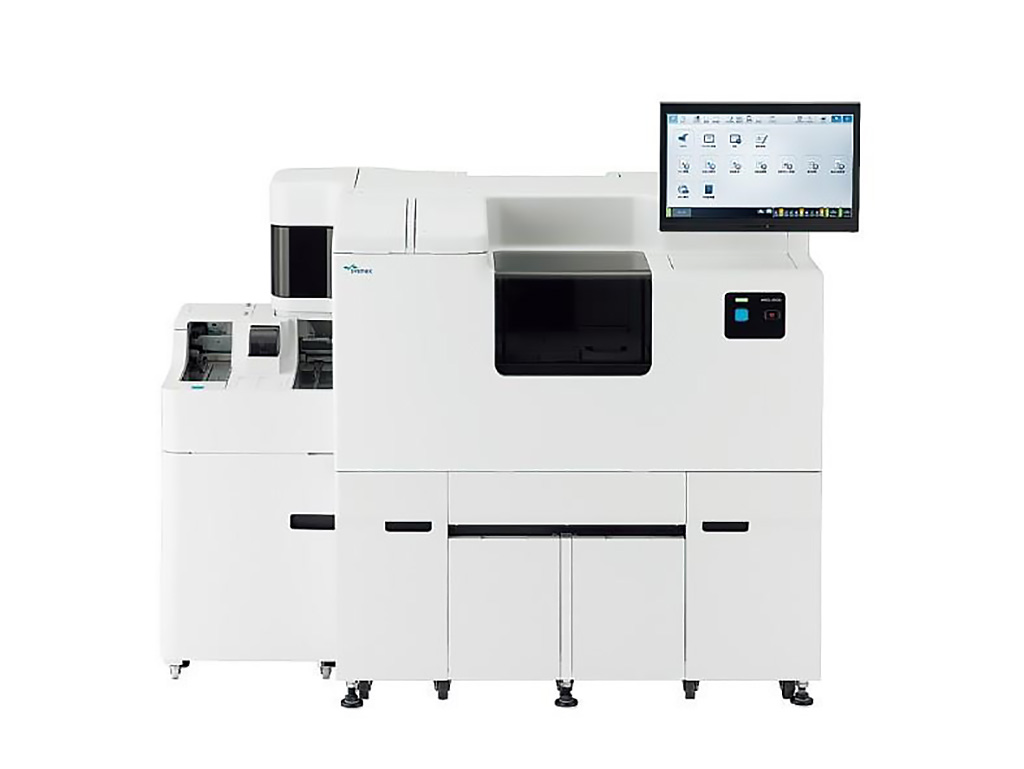 Image: The HISCL-5000 is a fully automated immunoassay analyzer with a throughput of 200 tests per hour. The incubation time for each parameter is 17 minute and allows each laboratory to achieve maximum efficiency and productivity (Photo courtesy of Sysmex Corporation).