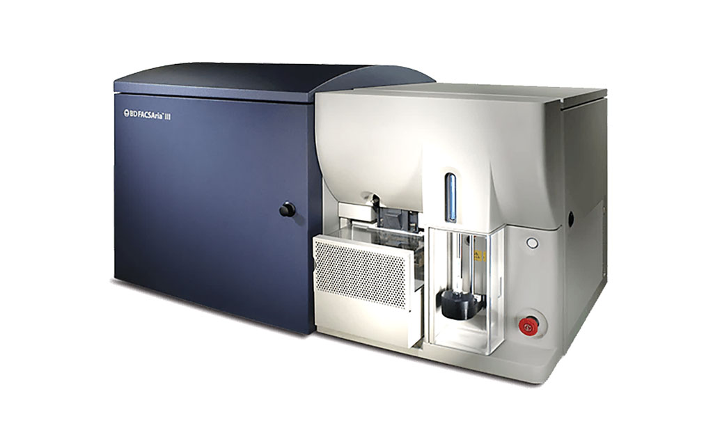 Image: The BD FACSAria III fluorescent activated cell sorter used to enumerate circulating progenitor cells (Photo courtesy of Becton, Dickinson and Company.