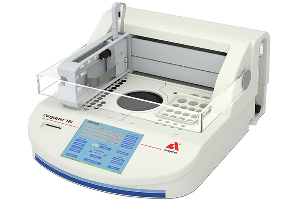 Image: Analyticon Coagulyzer 100 (Photo courtesy of Analyticon)