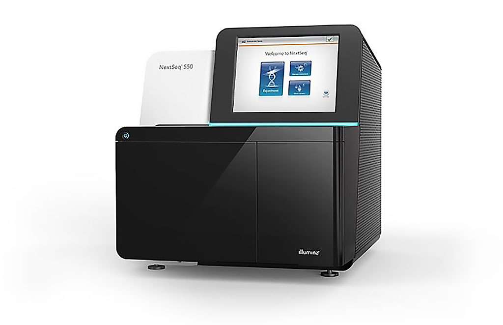 Image: The flexible NextSeq 550 System offers a seamless transition between high-throughput sequencing and array scanning (Photo courtesy of Illumina).