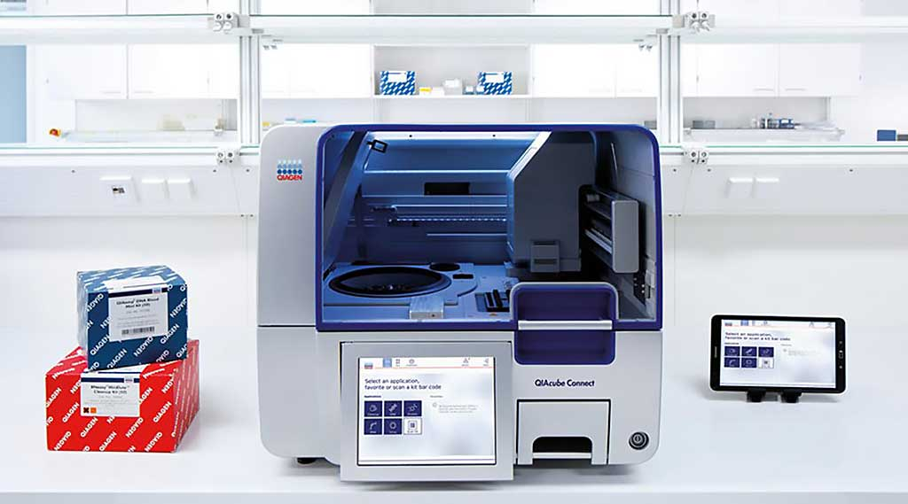Image: The QIAcube Connect is for fully automated nucleic acid extraction with QIAGEN's spin-column kits (Photo courtesy of QIAGEN).
