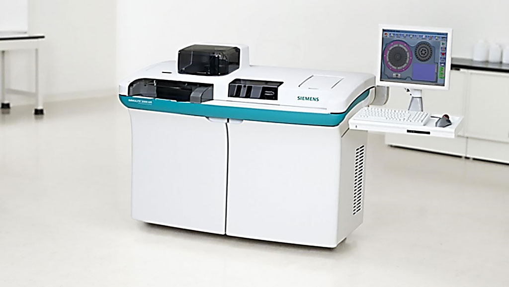 Image: The IMMULITE 2000 XPi system is easy to use and has one of the largest automated immunoassay menus available. Medium- to high-volume laboratories can incorporate specialty and allergy testing into routine workloads to improve productivity and efficiency (Photo courtesy of Siemens Healthineers).