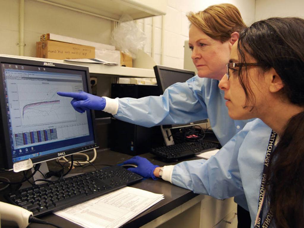 Image: Coronavirus screening test developed by Johns Hopkins microbiologists (Photo courtesy of John Hopkins University)