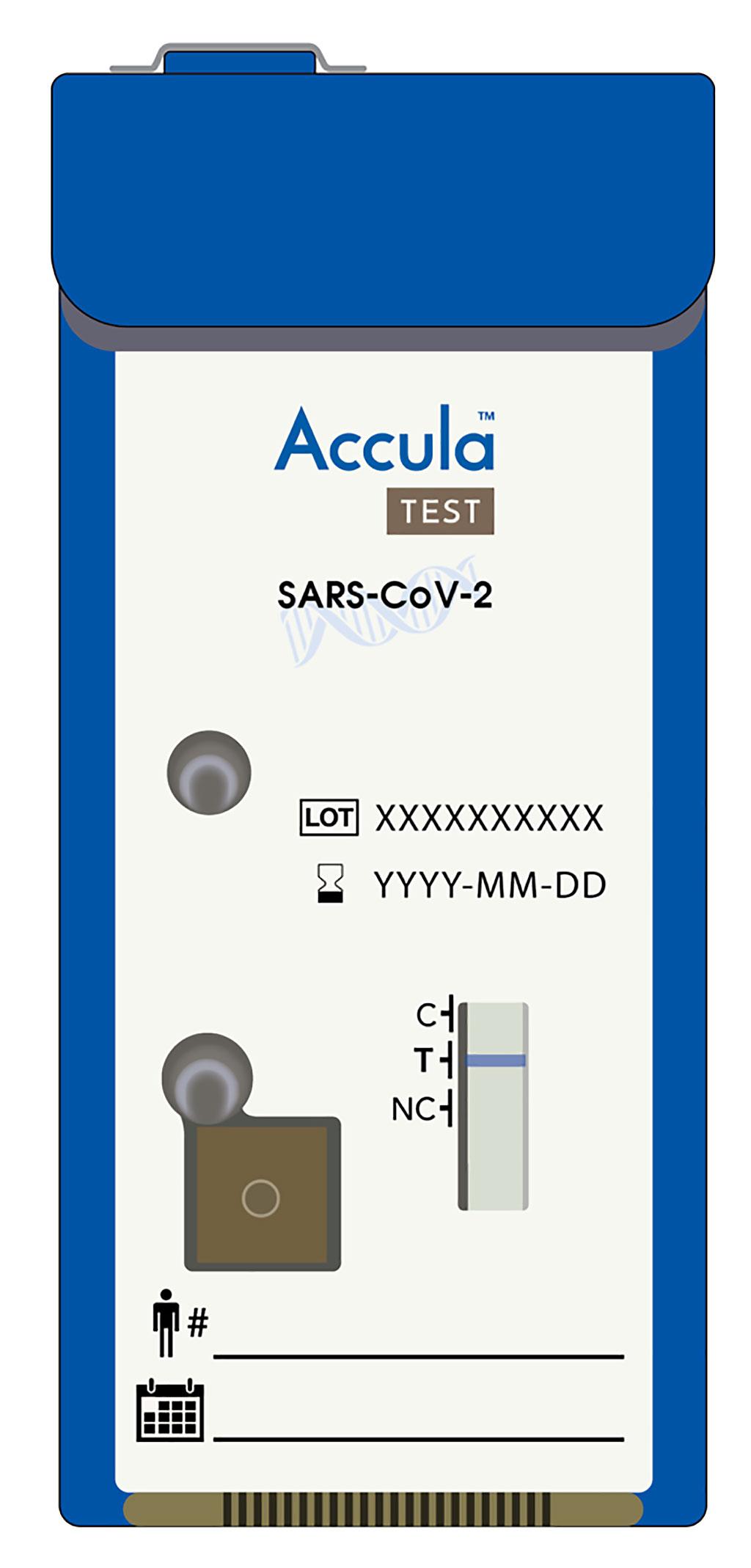 Image: Mesa's Accula SARS-CoV-2 Test (Photo courtesy of Mesa Biotech)