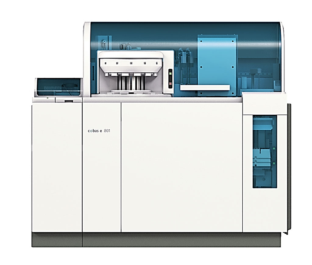 Image: The high throughput immunochemistry cobas e 801 module (Photo courtesy of Roche Diagnostics).