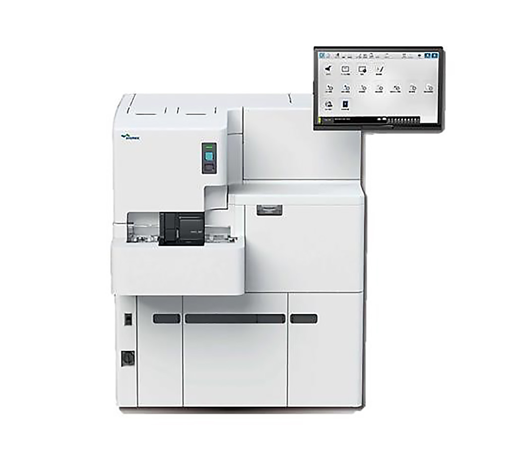 Image: The HISCL-5000 is a fully automated immunoassay analyzer with a throughput of 200 tests per hour (Photo courtesy of Sysmex).